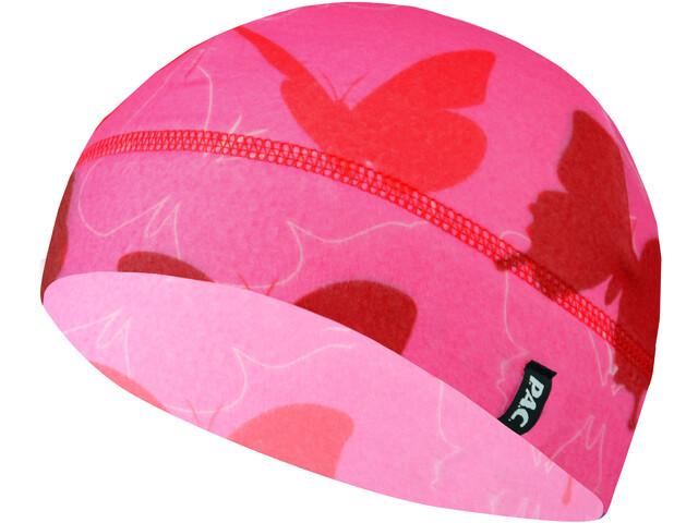 P.A.C. Cappello in pile Bambino, rosa